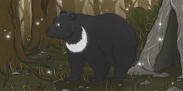Сказочные путешествия по Клариссе Эстес. Лунный медведь