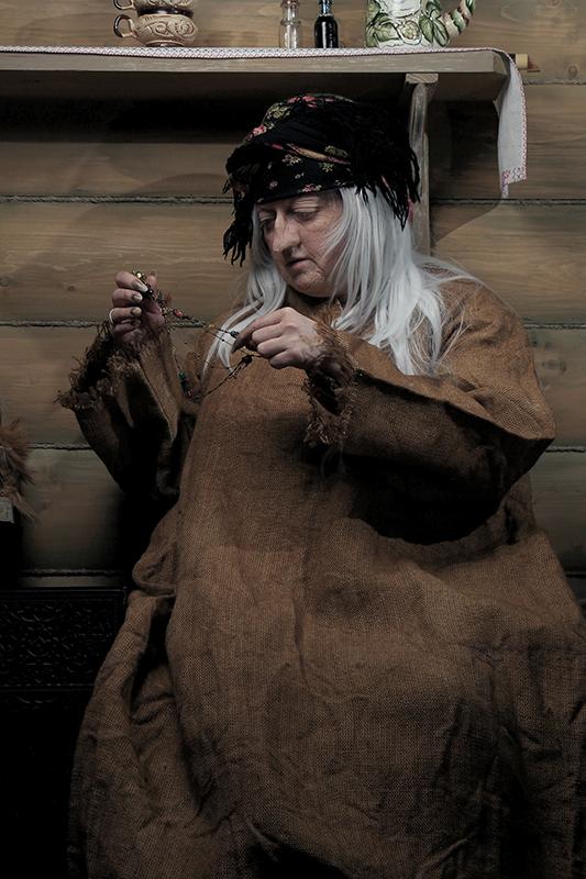 Сказки про Бабу-Ягу.  Мастер сказок. Зима