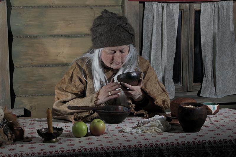 Сказки про Бабу-Ягу.  Мастер сказок. Осень