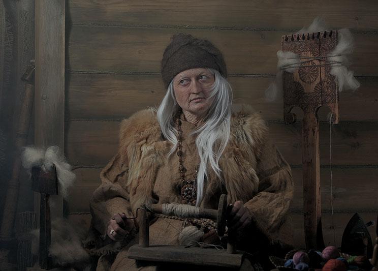 Сказки про Бабу-Ягу.  Мастер сказок. Покров добра